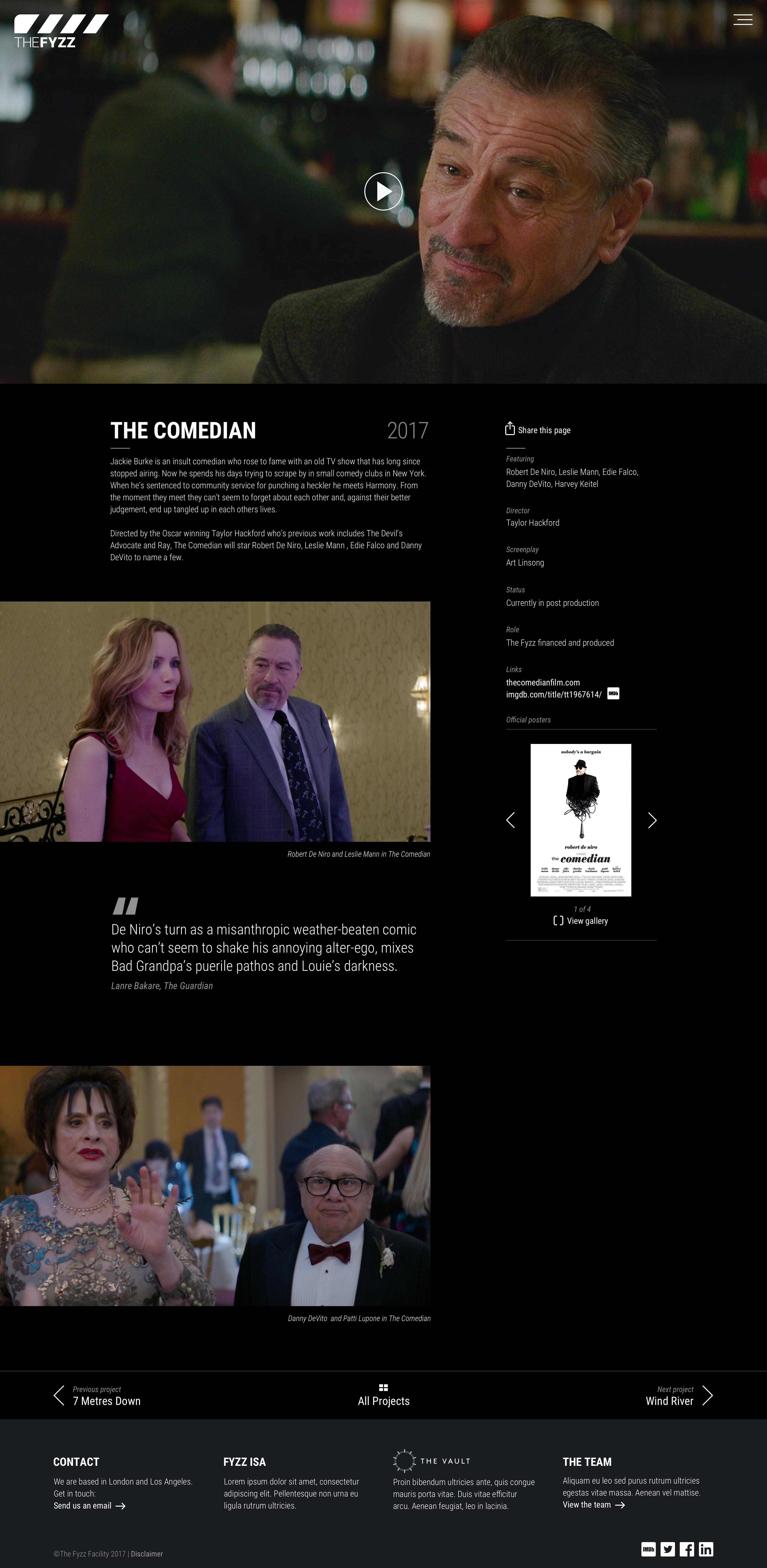 The Fyzz website