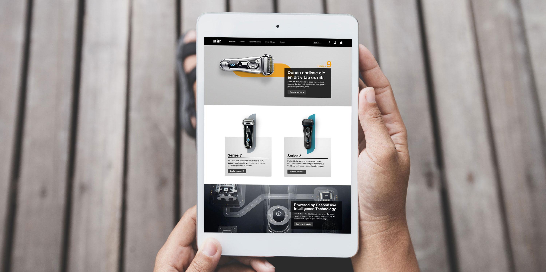 Braun website