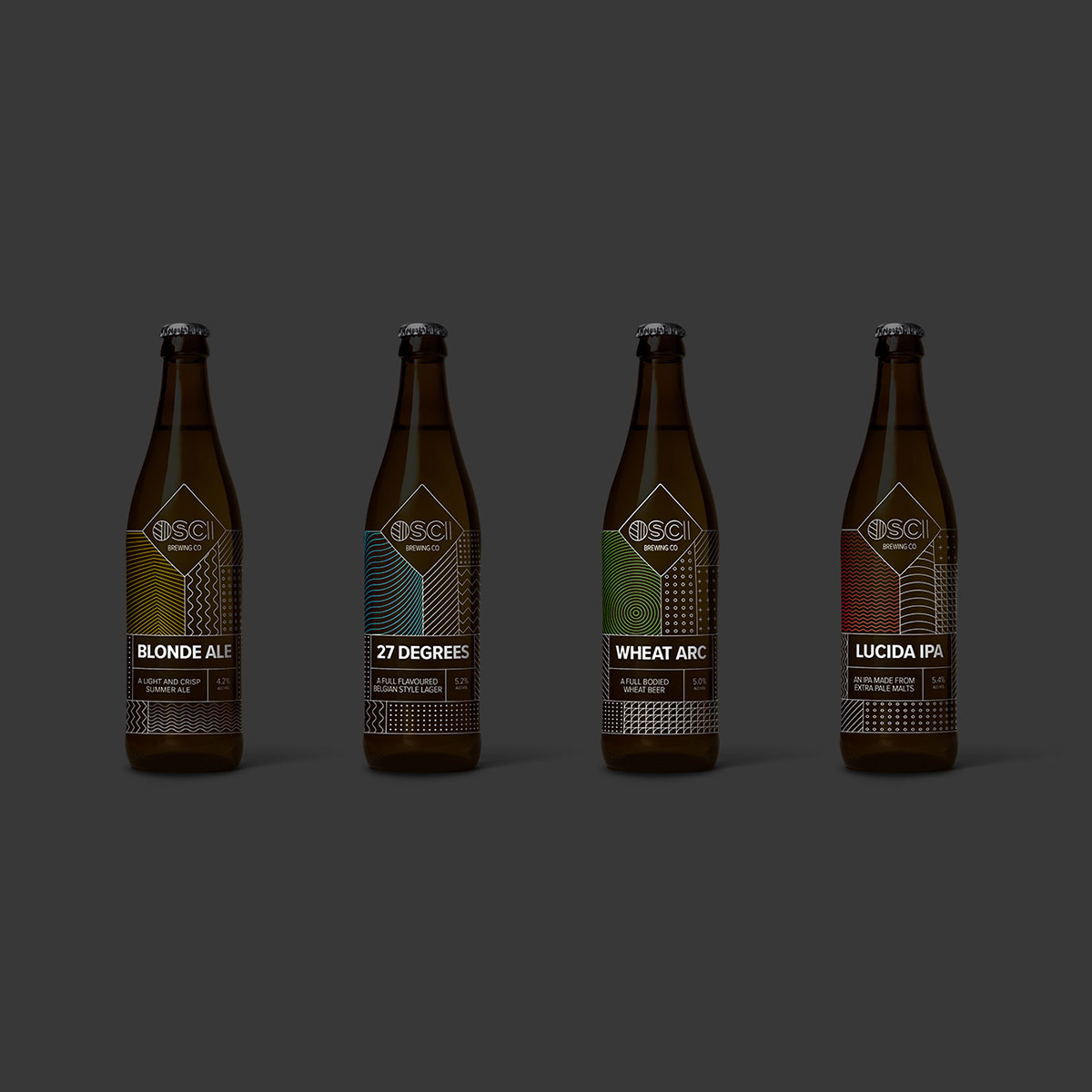 OSCI Brewing Co - brand and website