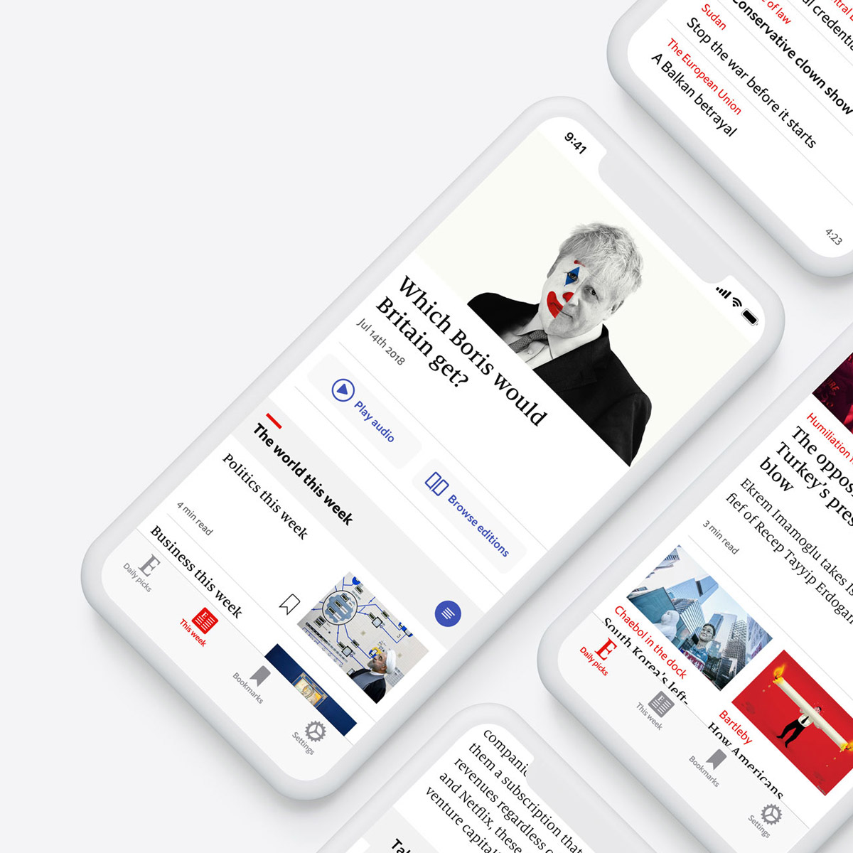 The Economist - mobile app
